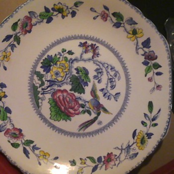 davenport  plates - China and Dinnerware