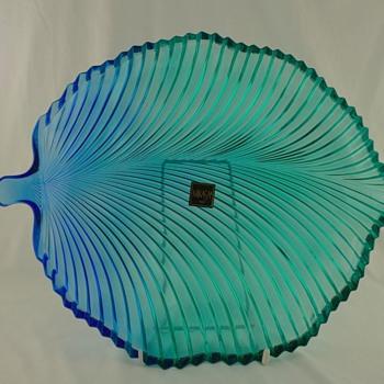 Mikasa plate by Kurata - Glassware