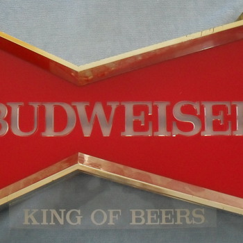 Budweiser Bow Tie Light - Breweriana