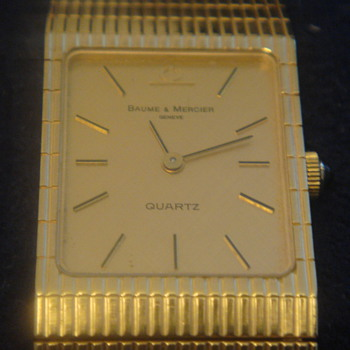 Vintage Baume & Mercier 14k Gold Men's Watch