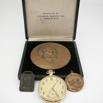 Illinois A. Lincoln Collection - Pocket Watches