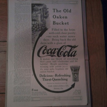 Old Coca Cola Ad  June, 1912 - Coca-Cola