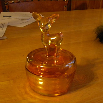 Deer Dish... - Glassware