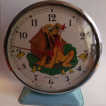 "New ""Cheap"" Bayard Animated Pluto Alarm Clock - Clocks"