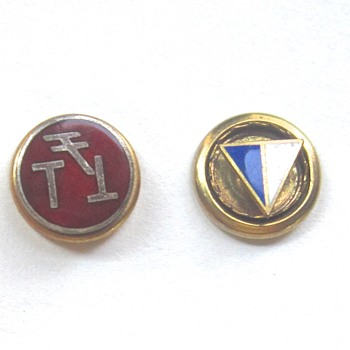 Military insignia pins