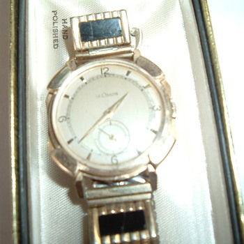 LeCoultre 14k winding watch. - Wristwatches