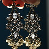 Vintage Costume Earrings Made in India?