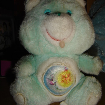 "Pair of ""mistake"" Care Bears - Dolls"