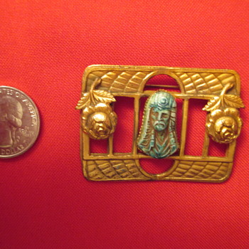 Recently found Egyptian style pin - Fine Jewelry