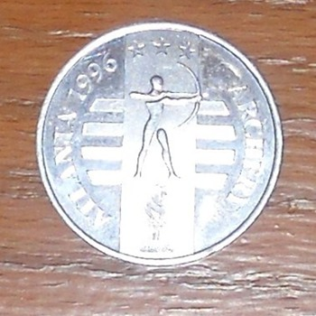 General Mills 1996 Atlanta Olympics Collector Coin