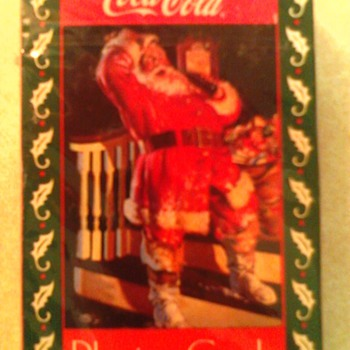 coca cola playing cards - Coca-Cola