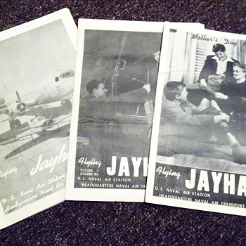 1945 Flying Hawk Magazines