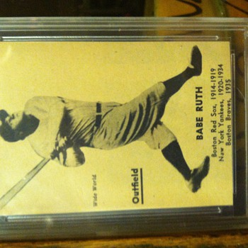 New additions to my Bambino collection - Baseball