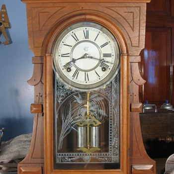 Waterbury Walnut Cased Shelf Clock, 1880s - Clocks