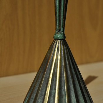 SMALL BRONZE BELL - Art Deco