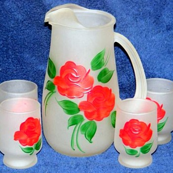 More Pitcher & Glasses Sets - Glassware