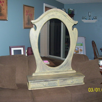 ARCH MIRROR OAK - Furniture