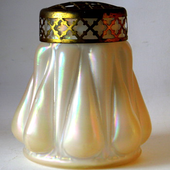 Kralik Pearlescent MoP vase - Art Glass