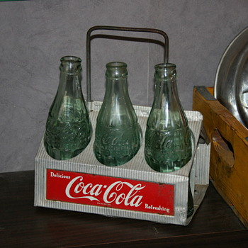 Coca cola bottles carriers - Bottles