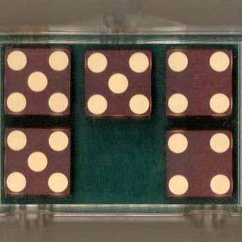 1980's - Bud Jones Co. Casino Dice