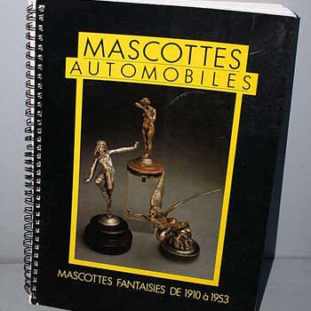 MASCOTTES  AUTOMOBILLES CATALOG by Michel Legrand - Art Deco