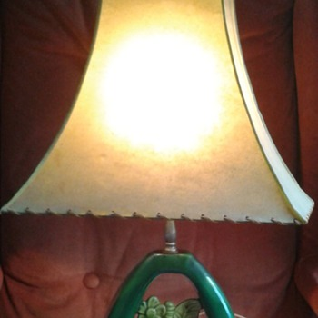 Mid Century Ceramic Lamp - Lamps