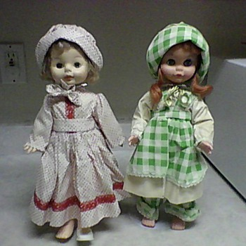 HORSMAN AND UNEEDA DOLLS - Dolls