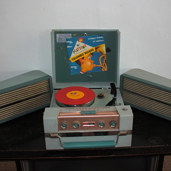 My latest portable record player