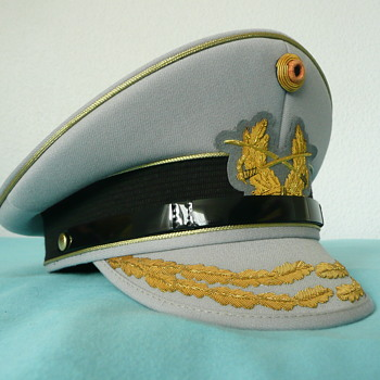 German Visor Cap of a Bundeswehr General - Military and Wartime