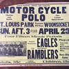 1933 Motor Cycle Polo poster