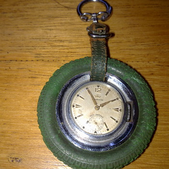 MARVIN POCKET WATCH IN A TYRE SURROUND