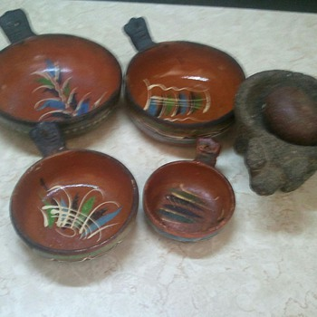 20th century mexican indian items