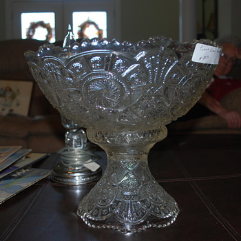 Help me identify my new old punch bowl. Anyone know? - Glassware