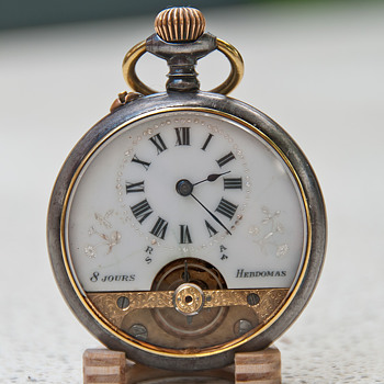 Hebdomas 8 days pocketwatch