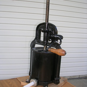 6 qt.  fruit press or sausage stuffer