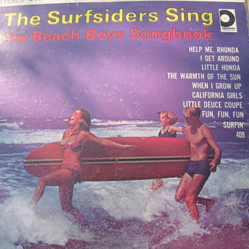 The Surfsiders Sing - Records