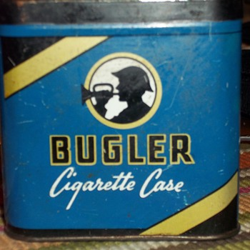 Bugler cigarette tin