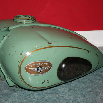 zundapp motorcycle gas tank