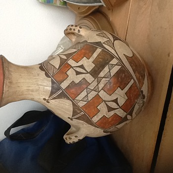 Pottery from Estate Clearout - Zuni/Hopi? - Native American