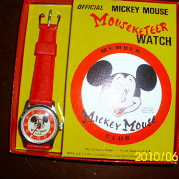 Bradley Mickey Mouse Club Watch - Wristwatches