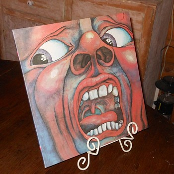 King Crimson In the Court of the Crimson King LP Japanese Import