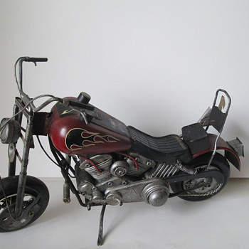 Motor Cycle Model - Toys