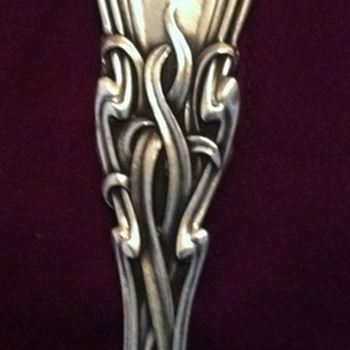 Durgin Sterling Serving Spoon - Sterling Silver