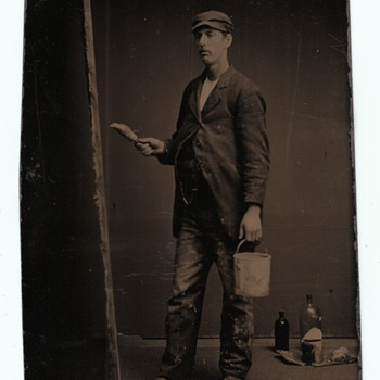 Occupational Tintypes Painters Art  Collection Jim Linderman The Painted Backdrop