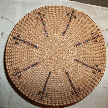 Native American Washoe or Paiute Woven Basket