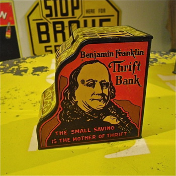 Tin Marx Ben Franklin Bank