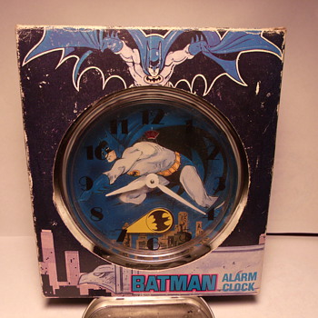 Animated Batman Alarm Clock