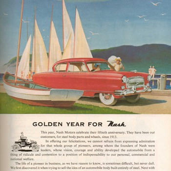 1952 - Budd Co. / Nash Advertisement - Advertising