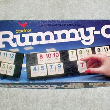 "1977 - ""Rummy-O"" Boardgame - Games"