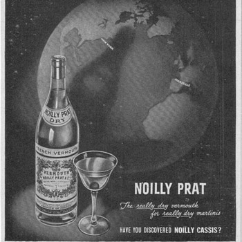 1950 Noilly Prat Advertisement - Advertising